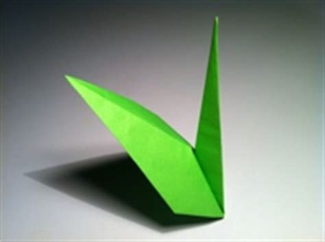 origami stem and leaf origami stem and diagram
