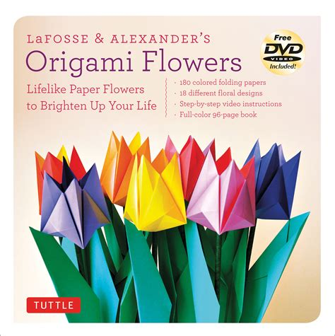 origami flowers book lafosse s origami flowers kit book summary
