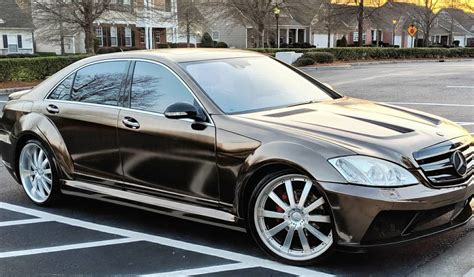 2007 Mercedes S 550 by 2007 Mercedes S550 Widebody Deadclutch