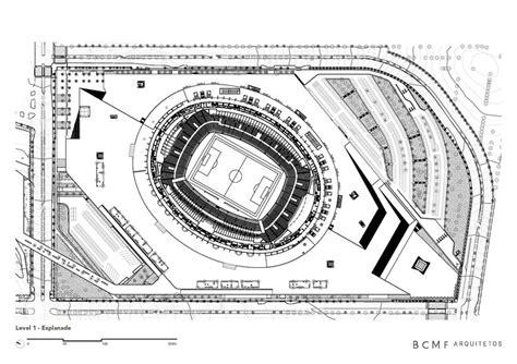 football stadium floor plan mineir 227 o stadium bcmf arquitetos archdaily