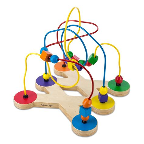 bead toys doug classic bead maze wooden