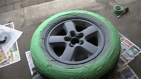 spray paint your rims black murdering out the jeep phase 1 painting my wheels black