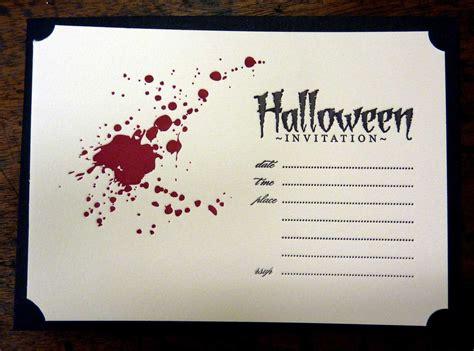 halloween invitation ideas template best template collection