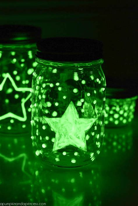glow in the paint jars glow in the jars allfreekidscrafts