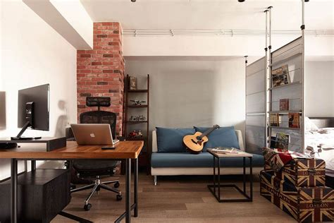 apartment style tiny industrial loft style apartment in taipei city