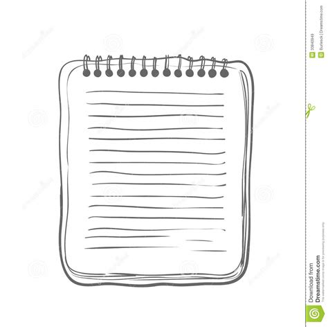 sketch notebook royalty free stock images image 33840949
