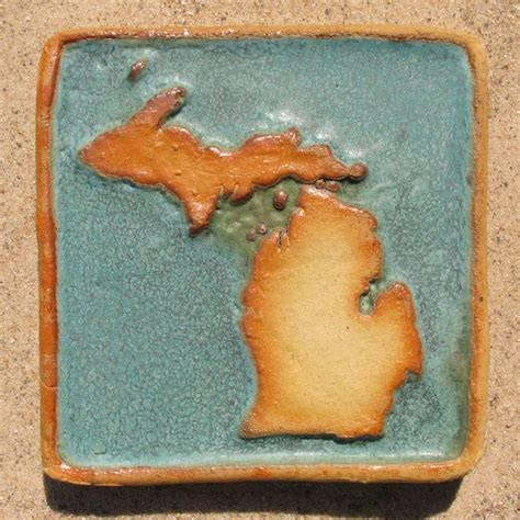 michigan crafts for michigan tile