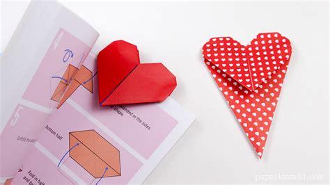 origami bookmark tutorial origami bookmark paper kawaii