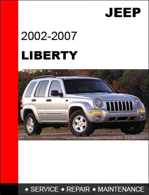 service manual owners manual for a 2006 jeep liberty jeep kj 2006 liberty service manual