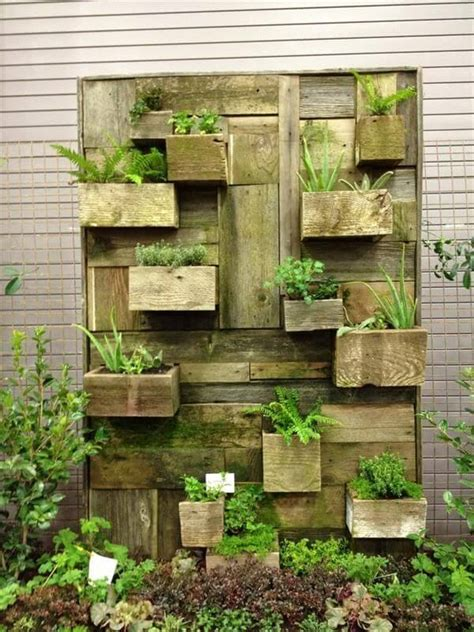 how to make a vertical wall garden 22 diy vertical garden wall ideas worthminer