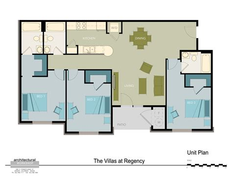 regency villa floor plans denver colorado