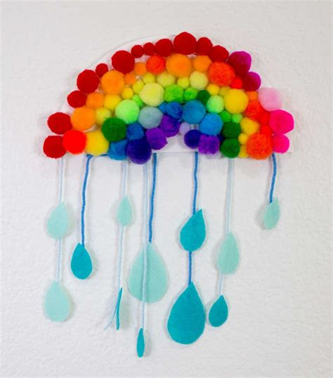 crafts for rainy day rainbow craft