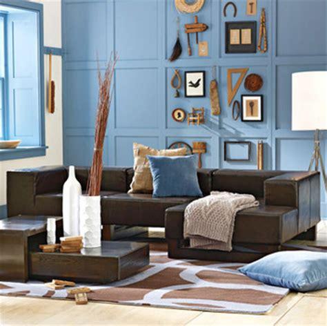 blue and brown home decor decora en tonos caf 233 decoraci 243 n de interiores y