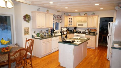 White Glass Tile Backsplash Kitchen saunderstown ri