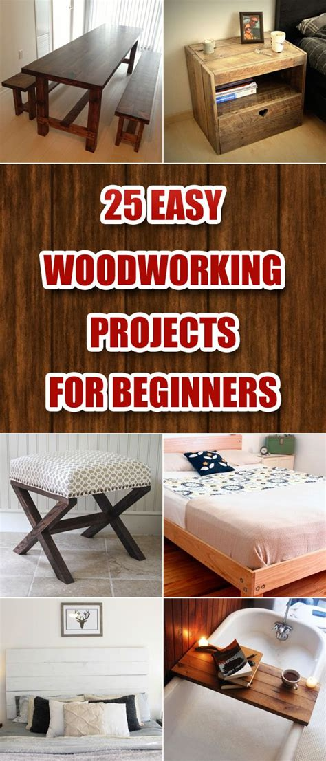 25 Best Ideas About Easy Woodworking Projects On