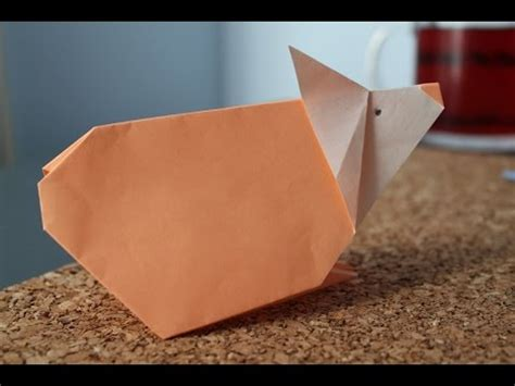how to make an origami hamster how to make an origami hamster