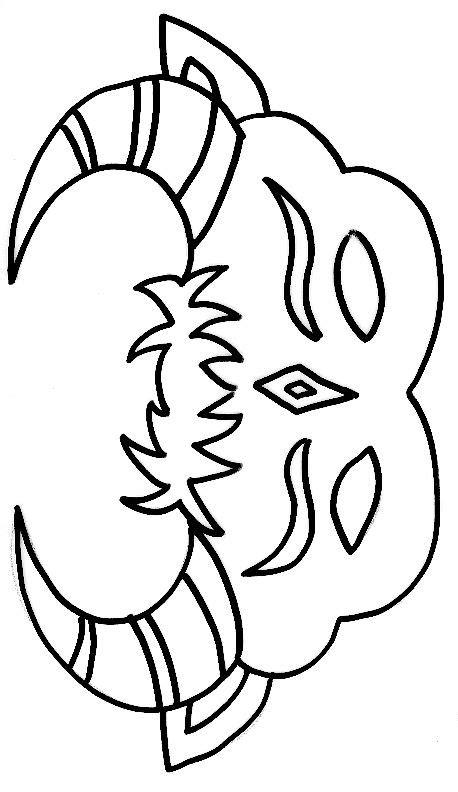 16 dessins de coloriage masque superman 224 imprimer