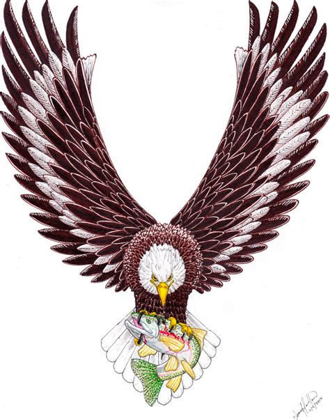 eagle tattoo design by spiderlaw d4ch0on eagle tattoo