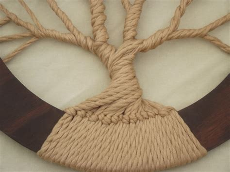 macrame tree pattern tree of hippie vintage macrame wall hanging in