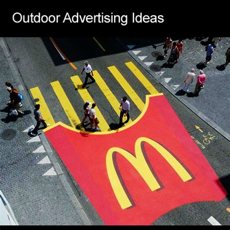outdoor advertising ideas images