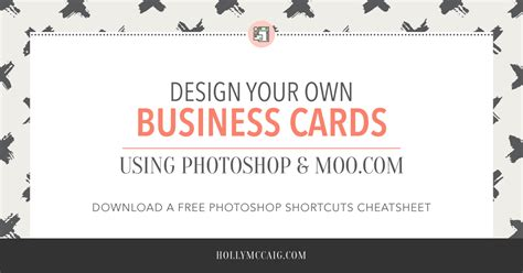 make ur own business cards for free design your own business cards with photoshop and moo