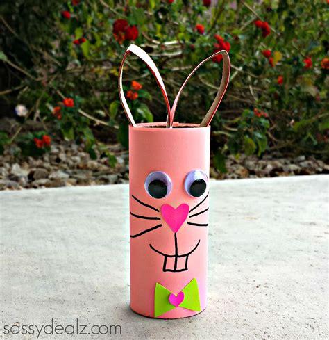 bunny toilet paper roll craft bunny rabbit toilet paper roll craft for crafty morning