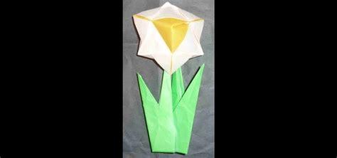 how to make beautiful origami how to make a beautiful origami daffodil for intermediate