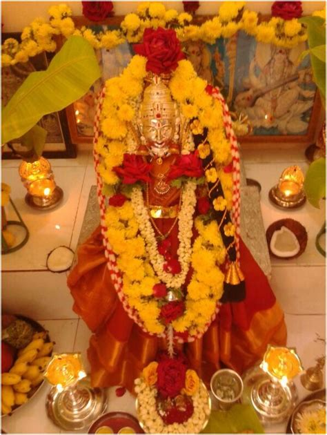 Hindu Decorations For Home varalakshmi vratham significance and puja procedure