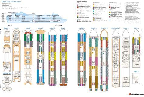 Deck Plans Norwegian Escape Deck Top 10 Reasons To