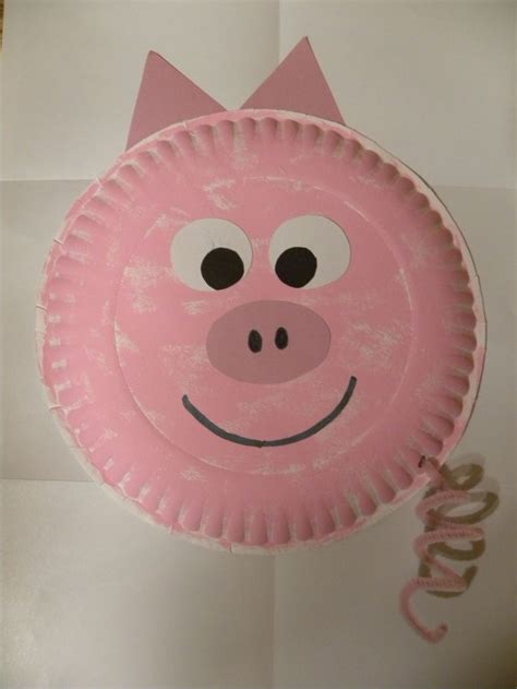 pig paper plate craft best 20 pig crafts ideas on plastic piggy