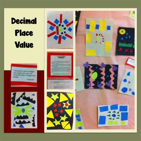 5th grade craft projects students in 5th grade math created visual projects to