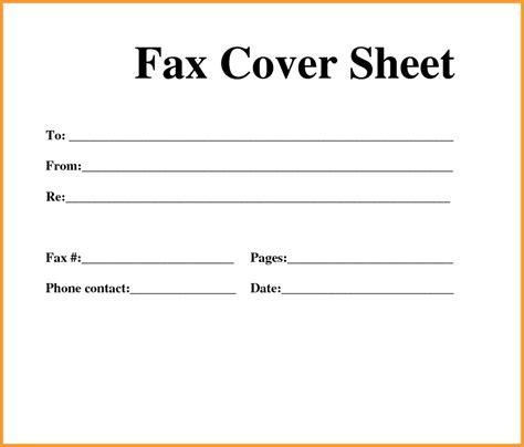 letter cover sheet printable fax cover sheet letter template pdf