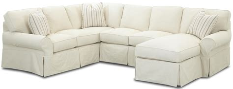 slip covered sectional sofas sectional sofa slipcovers