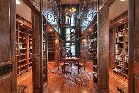 Tudor Home Plans luxury living private libraries christie s