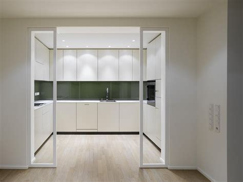 glass door for kitchen interior design a duplex apartment with a