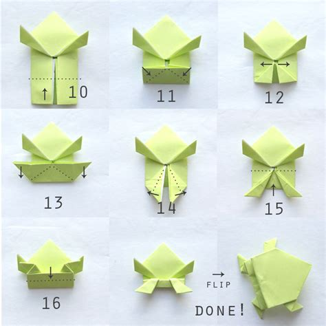 how to fold origami origami jumping frogs easy folding