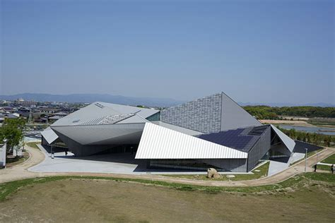 House Design Inspiration Blogs kengo kuma s folding art museum takes inspiration from
