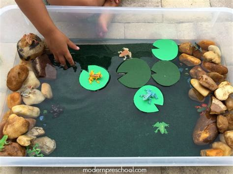 pond crafts for 25 best ideas about frog theme preschool on