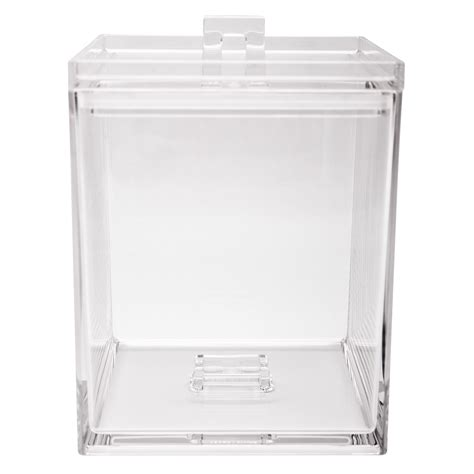 clear plastic kitchen canisters zak designs meeme mini stackable kitchen canister clear