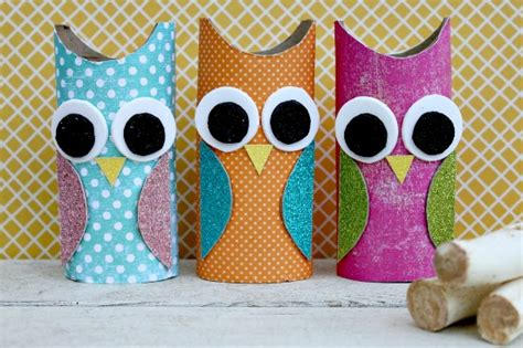 toilet paper owl craft owl paper roll craft centsible