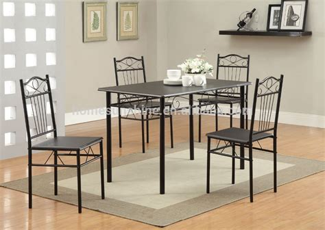 metal dining room furniture table and chair set buy