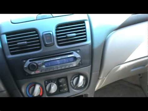 how to fix cars 2002 nissan sentra engine control 2002 nissan sentra gxe youtube