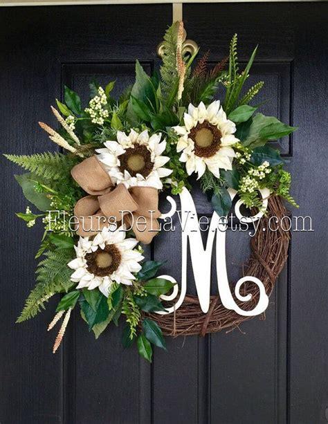 door wreaths 25 best summer door wreaths ideas on