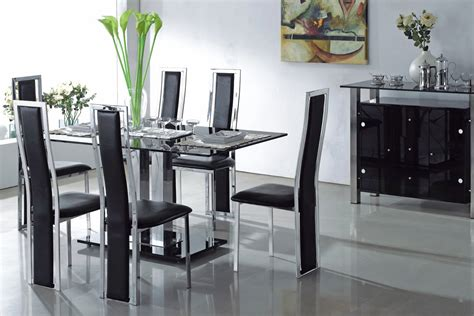 dining room table black dining room amazing black dining table set black dining