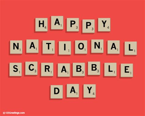 scrabble word of the day national scrabble day cards free national scrabble day