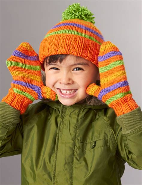 knitting patterns for mittens on four needles basic hat and mittens 2 needles yarn free knitting autos