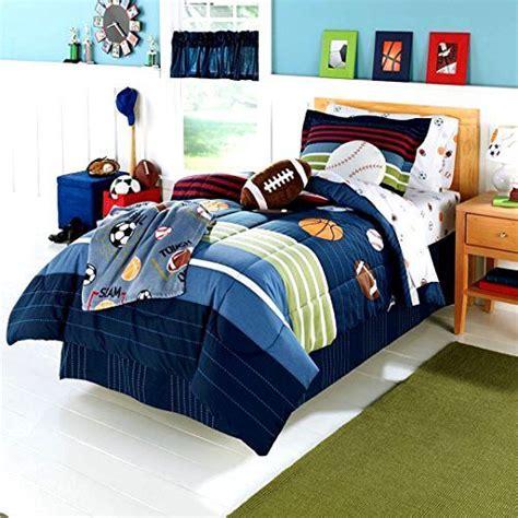 boys bedroom bedding sets 5 pc bed in bag boys all sports bedding comforter