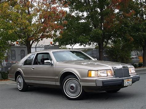 car manuals free online 1985 lincoln continental mark vii spare parts catalogs service manual lincoln continental mark vii specs photos videos and 1988 lincoln continental