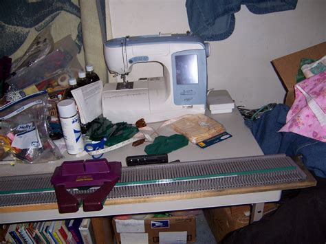 sew easy knitting machine to knit and sew setting up my usm knitting machine