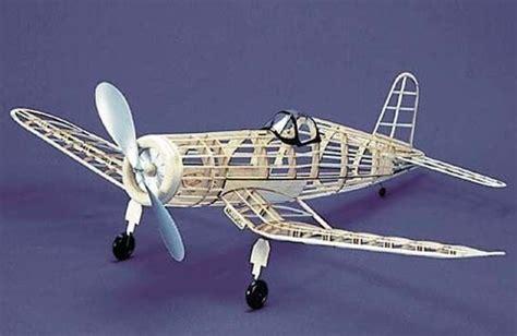 rubber st models f4u 1 corsair 113 herr balsa wood model airplane kit